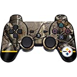 Skinit Decal Gaming Skin Compatible with PS3 Dual Shock Wireless Controller - Officially Licensed NFL Realtree Camo Pittsburgh Steelers Design