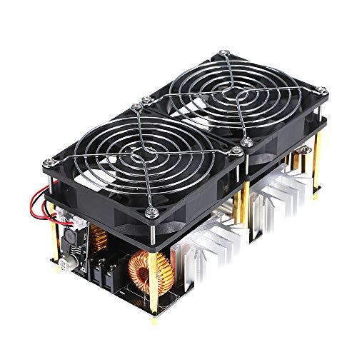 KKmoon 1800W 40A 12V-48V ZVS Riscaldatore per Driver Flyback Diy Modulo di Riscaldamento ad Induzione Riscaldatore Buona Dissipazione di Calore con Accessori Bobina