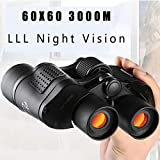 DAZER 60X60 3000M HD Professional Hunting Binoculars Telescope Night Vision for Hiking Travel Field Work Forestry Fire Protection