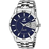Espoir Stainless Steel Day and Date Blue Dial Analog Mens Watch Sam0507