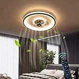 Iluminación Ventiladores De Techo LED Con Control Remoto 36W...