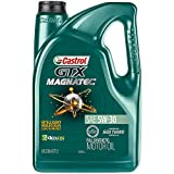 Castrol 03057 GTX MAGNATEC 5W-30 Full Synthetic Motor Oil, Green , 5 Quart