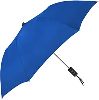 STROMBERGBRAND UMBRELLAS Spectrum Popular Style Automatic Open Close Small Light Weight Portable Compact Tiny Mini Travel Folding Umbrella for Men and Women, Royal Blue
