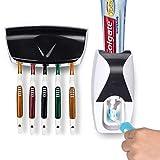 Txyk Distributeur Automatique de Dentifrice, Support de Brosse à Dents, Outil de Presser Le Tube de Dentifrice