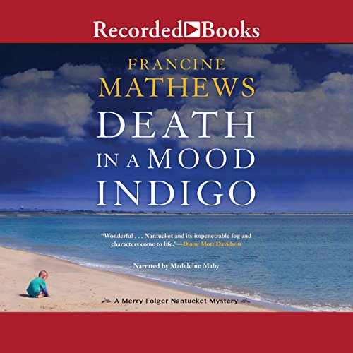 Death in a Mood Indigo audiobook cover art