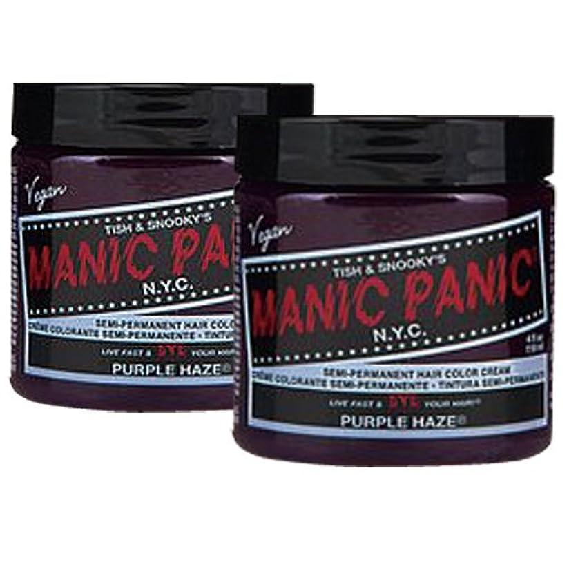 差別半球別に【2個セット】MANIC PANIC マニックパニック Purple Haze パープルヘイズ 118m