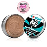 NO GUNK Argile Pâte Cire Coiffante Bio 100% Naturelle pour Cheveux Homme - Tenue Forte - Effet Mat - Matte Lava Clay (Original, 50g)