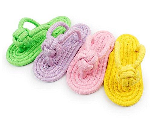 Demarkt 2X Welpenspielzeug Kauspielzeug Hundespielzeug zufällige Farbe 9x20cm