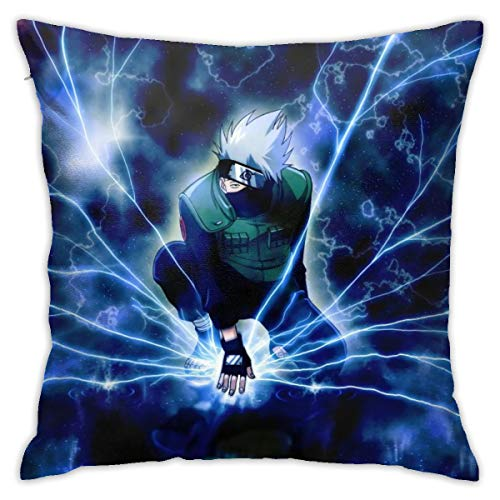 Aoocasi Stain Resistant Pillow Covers Stylish Stylish Comfortable Anime Throw Pillow Covers Cushion Decorative Throw Pillows for Sofa Patio Outdoor Cafe