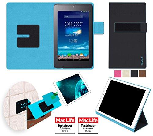 reboon Hülle für Asus FonePad 7 ME372CG Tasche Cover Hülle Bumper | in Schwarz | Testsieger