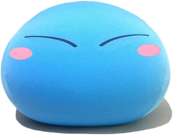 WJ MongKok Anime Tensei Shitara Slime Datta Ken Slime Stuffed Plush Toys Birthday Pillow Cartoon Doll Children Gift 15 7 X 12 Shy