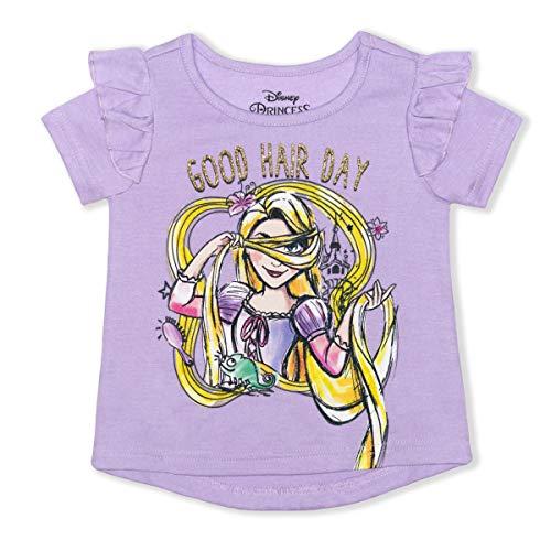 Disney Rapunzel Good Hair Day - Blusa de verano para niña - morado - 24 meses