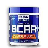 USN BCAA Power Punch Branch Chain Amino Acids BCAA Powder Tangerine, 400 g