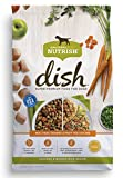 Rachael Ray Nutrish Dish Premium Natural Dry Dog Food, Chicken & Brown Rice Recipe with Veggies & Fruit, 3.75 Pounds