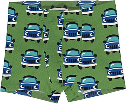 Maxomorra Jungen Unterhose mit Autos Boxer Shorts CAR (134-140)