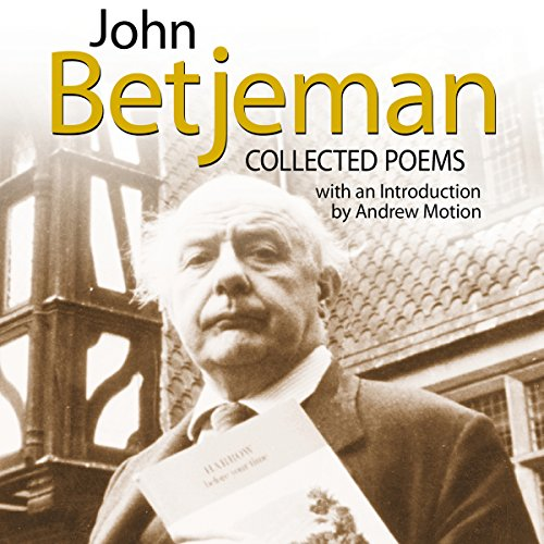John Betjeman audiobook cover art