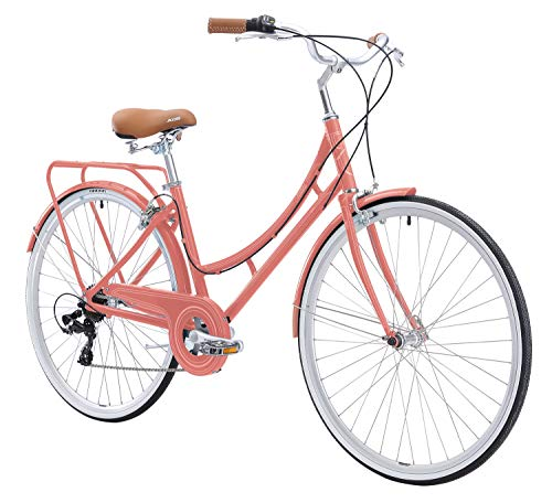 FIRTH SPORTS Nadine SE Women's Aluminum Step-Thru City Bike