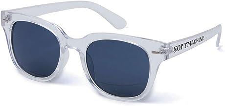 【Softmachine】ソフトマシーン【TOLUCA GLASS】CLEAR【サングラス】眼鏡 ソフトマシン スモークレンズ