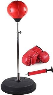 TRLAPOWER Freestanding Boxing Bag Speed Ball Set - Bolsa de reflexión Ajustable Muay Thai Training Artes Marciales - Adulto y Equipo de Entrenamiento de Juguetes Deportivos para niños