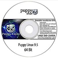"Puppy Linux 9.5 Live ""Ubuntu Focal 64"" (64Bit) - Bootable Linux Installation DVD"