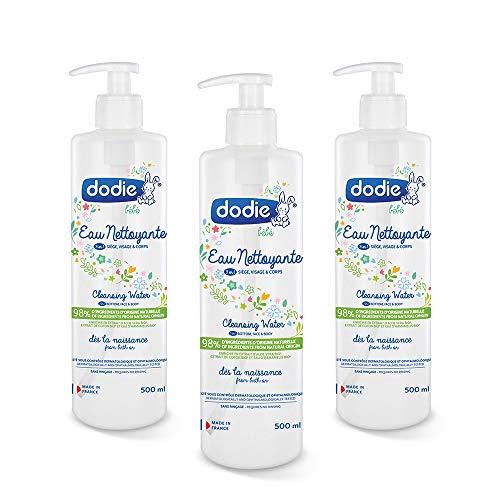 Dodie - Lote De 3 Aguas Limpiadoras 3 En 1