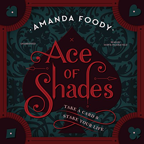 Ace of Shades audiobook cover art