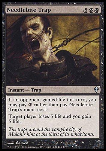 Magic The Gathering - Needlebite Trap (105) - Zendikar