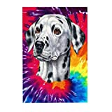 Jigsaw Puzzles Dalmatian Face Large Wooden Puzzles for Adults 300 Piece Mothersdaygifts from Daughter Unique