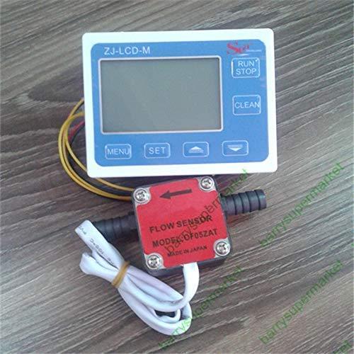 Öl-Durchflussmesser Zähler Durchflussanzeiger Sensor Für hohe Flüssigkeitskonzentration + Durchflussmesser Digitale LCD-Durchflussanzeige Controller
