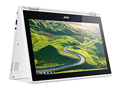 """Acer R11 Convertible 2-in-1 Chromebook, 11.6"""" HD Touchscreen, Intel Quad-Core N3150 1.6Ghz, 4GB Memory, 32GB SSD, Bluetooth, Webcam, Chrome OS (Certified Refurbished)"""