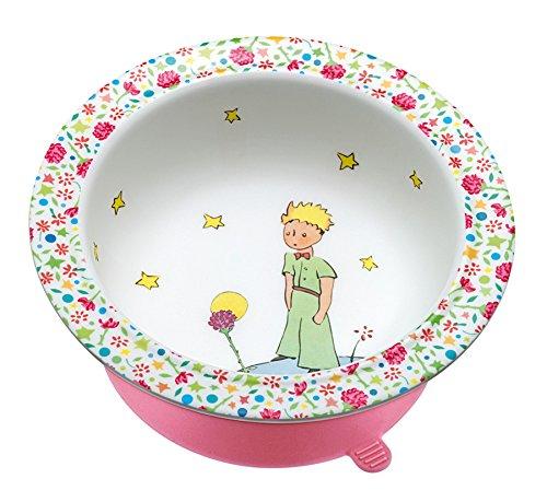 Der Kleine Prinz PP902RH Schale mit Saugboden, rosa
