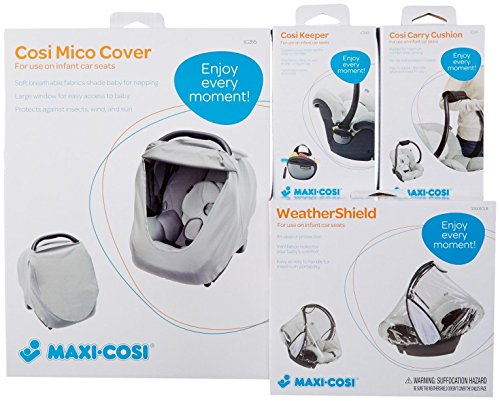 Maxi-Cosi Cosi Infant Car Seat Accessory Kit, Black