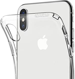 "Capa para Iphone Xs Max 6.5"" Polegadas, Cell Case, Capa Protetora Flexível, Transparente"