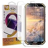 Photo Gallery guran 3 pezzi pellicola protettiva in vetro temperato per doogee s40 / s40 lite smartphone 9h durezza anti-impronte hd alta trasparenza pellicola