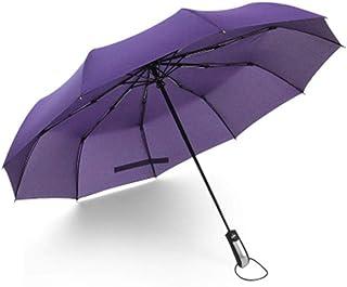 Nobrand Wind Resistant Folding Automatic Umbrella Men Luxury Big Windproof Umbrella Rain Women Male Umbrella