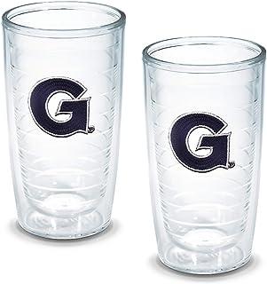 Tervis Georgetown University Emblem Tumbler, Set of 2, 16 oz, Clear