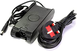 Trands Laptop Charger for Dell 19.5V 4.62A Black Large Pin With Power Cable