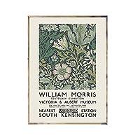 ウィリアムモリスポスター絵画キャンバス壁アートキャンバスに印刷リビングルームの装飾のための写真家の寝室の装飾50x70cmフレームなし