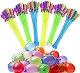 Jooheli Globos de Agua, Juguete Globos de Agua, Globos de Agua Coloridos Kits con Globos y Tirachinas Profesional, para Juegos de Jardín Al Aire Libre, Fiestas de Cumpleaños, Juegos Acuáticos