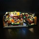 Kit de luces LED Kyglaring para Lego Friends 21319 Bloques de construcción de iluminación Ladrillos para amigos LEGO Ideas 21319 Kit de construcción de beneficio central (Modelo 21319 NO incluido)