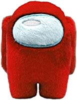 LAOZZI Among Us Peluches de Animales de Peluche, Matanza de Hombre Lobo Espacial, muñeco de Personaje del Juego - 10 cm