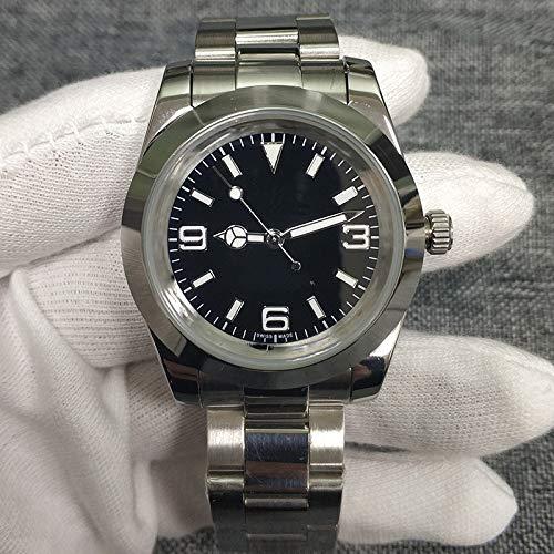 MKOIJN Horloges Luxe Merk Automatisch Mechanisch Horloge Voor De Heren Horloges39Mm Meteoriet WijzerplaatDatum Lichtgevend