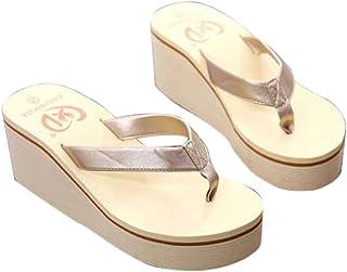 f4c7496af32c3 Amazon.com: Gold - Flip-Flops / Sandals: Clothing, Shoes & Jewelry