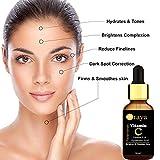 Oraya Vitamin C Face Serum For Skin Brightening, Anti-Ageing & for Glowing Skin