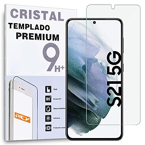 REY Protector de Pantalla para Samsung Galaxy S21 5G, Cristal Vidrio Templado Premium