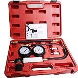 Cylinder Leak Down Tester,Compression Test kit - Engine Cylinder Dual Gauge Leakdown Tester kit Diagnostics Tool.