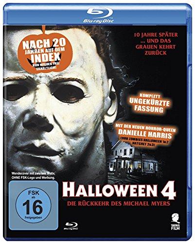 Halloween 4 - Die Rückkehr des Michael Myers (Uncut) [Blu-ray]