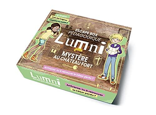 Escape Box pédagogique Lumni (9-11 ans) – Mystère au château fort – Jeu de société jeunesse – À partir de 9 ans