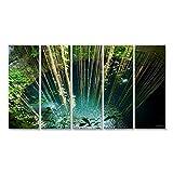islandburner Bild Bilder auf Leinwand Ik-Kil Cenote,