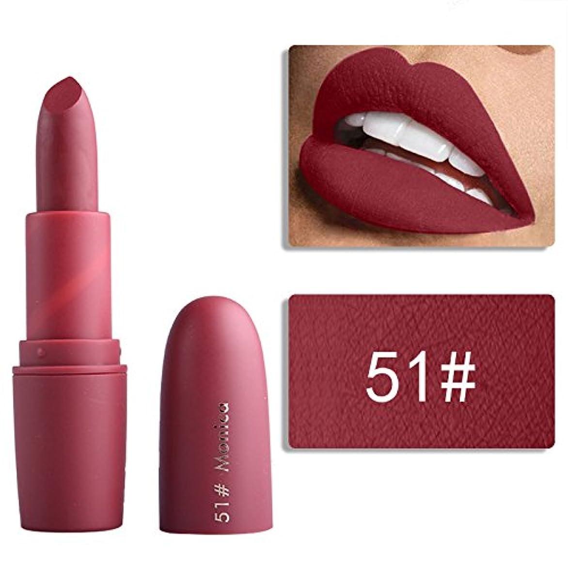 意外これまで配列Miss Rose Nude Lipstick 22 colors Waterproof Vampire Brown Beauty Baby Lips Batom Matte lipstick Makeup Tats Eugenie Margherita